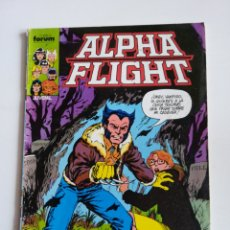 Cómics: ALPHA FLIGHT N°10 ( FORUM) CON ERROR DE IMPRENTA. Lote 198726918