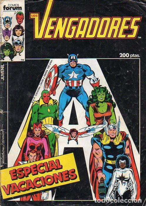 LOS VENGADORES ESPECIAL VACACIONES 1986 - FORUM (Tebeos y Comics - Forum - Vengadores)