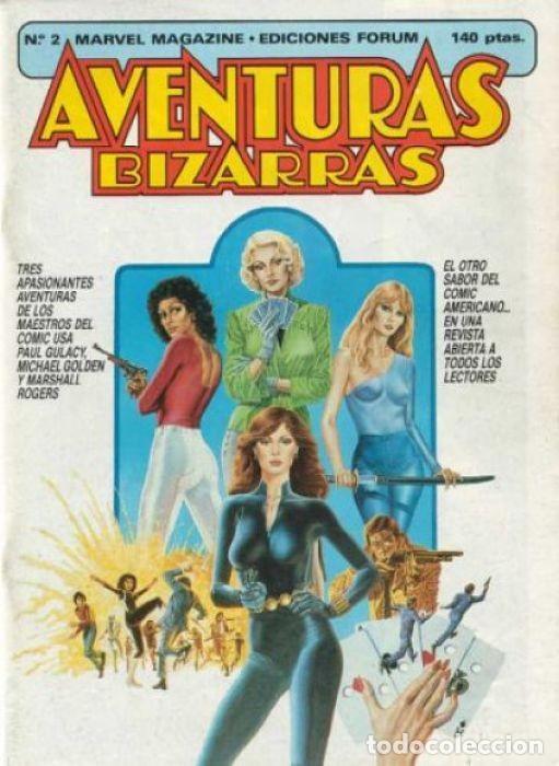 AVENTURAS BIZARRAS VOL.1 Nº 2 - FORUM (Tebeos y Comics - Forum - Daredevil)