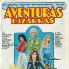 Cómics: AVENTURAS BIZARRAS VOL.1 Nº 2 - FORUM. Lote 198745732