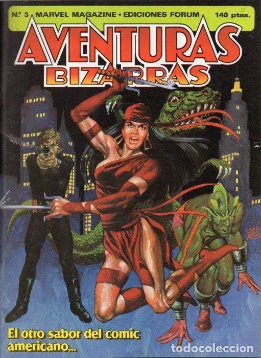 AVENTURAS BIZARRAS VOL.1 Nº 3 - FORUM (Tebeos y Comics - Forum - Daredevil)