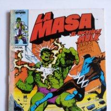Cómics: LA MASA ( EL INCREÍBLE HULK) VOL.1 N° 32. Lote 198781975