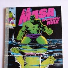 Cómics: LA MASA ( EL INCREÍBLE HULK) VOL.1 N° 34. Lote 198782288