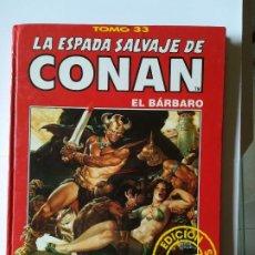 Cómics: LA ESPADA SALVAJE DE CONAN EL BARBARO. TOMO 33. EDICIÓN COLECCIONOSTAS. FORUM. Lote 198905275