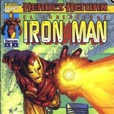 Cómics: IRON MAN HEROES RETURN FORUM COLECCIÓN COMPLETA 25 NÚMEROS. Lote 198926107