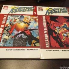 Cómics: CAPITÁN MARVEL TOMOS 1 Y 2. Lote 198927170