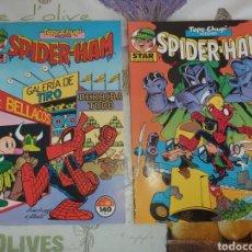 Cómics: SPIDER-HAM ,TELE CHUPI, LOS 2 EJEMPLARES MUY NUEVOS. Lote 198928077