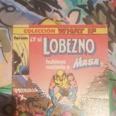 Cómics: WHAT IF VOL.1 Nº16 - ¿Y SI LOBEZNO HUBIESE MATADO A LA MASA? - FORUM. Lote 199059186