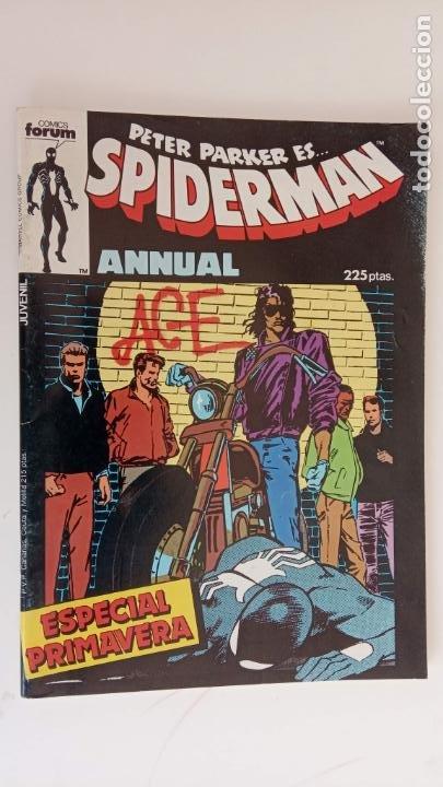 PETER PARKER ES... SPIDERMAN ANNUAL 1985 ESPECIAL PRIMAVERA - 68 PGS, MUY NUEVO (Tebeos y Comics - Forum - Spiderman)