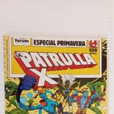 Cómics: LA PATRULLA X ESPECIAL PRIMAVERA 1989 - NUEVO. Lote 199075593