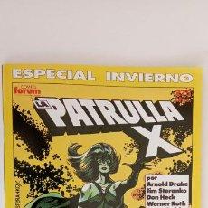 Cómics: LA PATRULLA X ESPECIAL INVIERNO 1990 - NUEVO. Lote 199075831