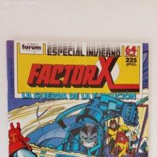 Cómics: FACTOR X EPECIAL INVIERNO 1989 - NUEVO - LA GUERRA DE LA EVOLUCIÓN. Lote 199076587