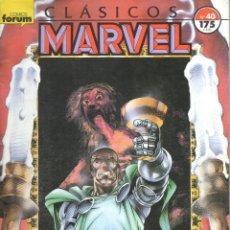 Cómics: CLASICOS MARVEL NUMERO 40. FORUM. Lote 199098921