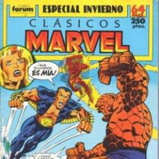 Cómics: CLÁSICOS MARVEL ESPECIAL INVIERNO 1989. FORUM. Lote 199099150