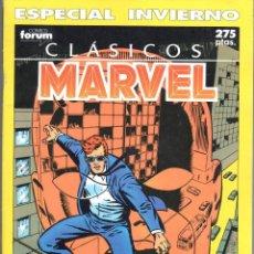 Cómics: CLÁSICOS MARVEL ESPECIAL INVIERNO 1990. FORUM. Lote 199099172