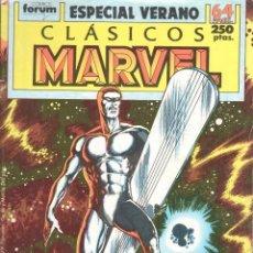 Cómics: CLÁSICOS MARVEL ESPECIAL VERANO 1989. FORUM. Lote 199099515