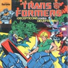 Cómics: TRANSFORMERS NUMERO 45. FORUM. Lote 199100441