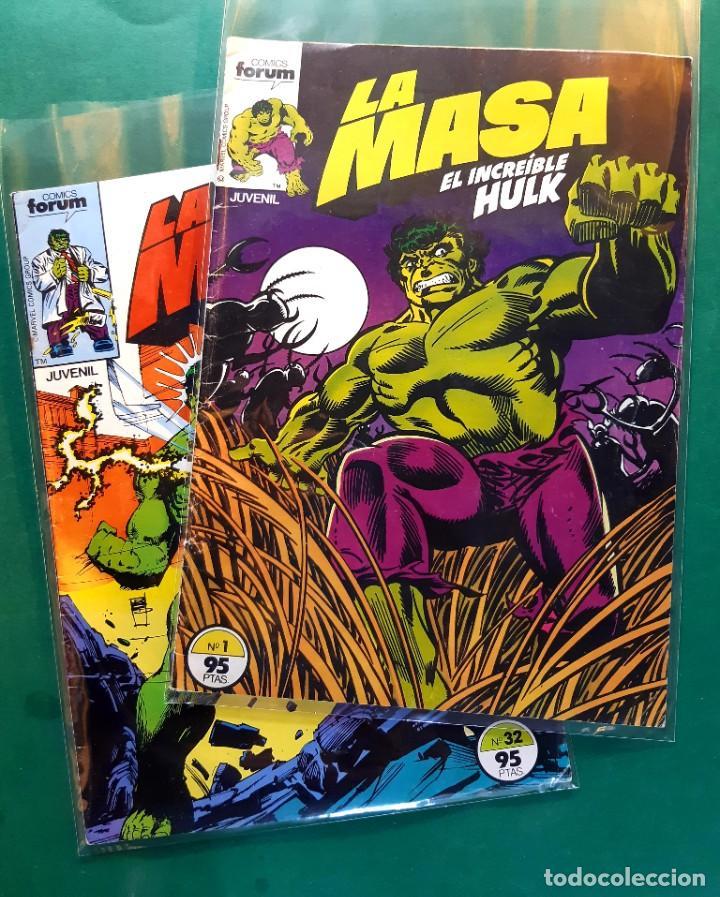 LA MASA Nº 1 Y 32 MUY BUEN ESTADO VER FOTOS (Tebeos y Comics - Forum - Hulk)