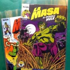 Cómics: LA MASA Nº 1 Y 32 MUY BUEN ESTADO VER FOTOS. Lote 199158103