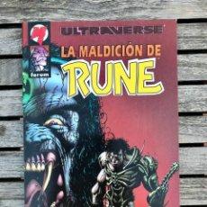 Cómics: ULTRAVERSE, LA MALDICIÓN DE RUNE. AUT. CHRIS ULM Y KYLE HOTZ. FORUM AÑO 1996.. Lote 184925497