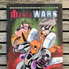 Cómics: FANHUNTER. MANGA WARS. AUTORES, NACHO FERNANDEZ Y CELS PIÑOL. FORUM, AÑO 1997.. Lote 185723658
