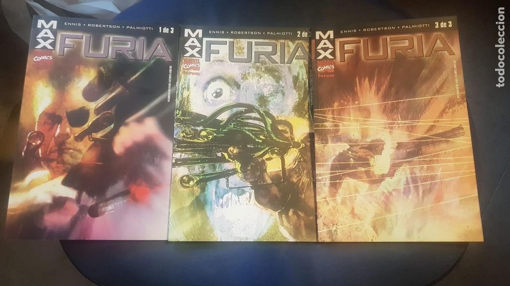 FURIA: MAX (OBRA COMPLETA 3 TOMOS) - FORUM (Tebeos y Comics - Forum - Furia)