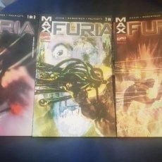 Cómics: FURIA: MAX (OBRA COMPLETA 3 TOMOS) - FORUM. Lote 199190811