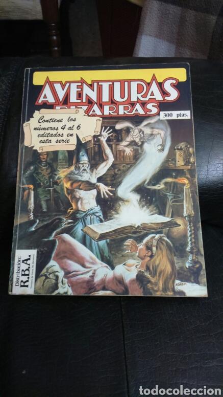 Cómics: AVENTURAS BIZARRAS 2 TOMOS RETAPADOS (1 al 3 y 4 al 6) - Foto 2 - 199256322