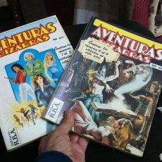 Cómics: AVENTURAS BIZARRAS 2 TOMOS RETAPADOS (1 AL 3 Y 4 AL 6). Lote 199256322