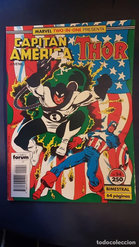 CAPITÁN AMERICA/THOR Nº54 (MARVEL TWO IN ONE) - FORUM (Tebeos y Comics - Forum - Capitán América)