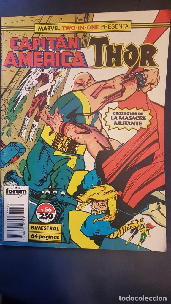 CAPITÁN AMERICA/THOR Nº56 (MARVEL TWO IN ONE) - FORUM (Tebeos y Comics - Forum - Capitán América)