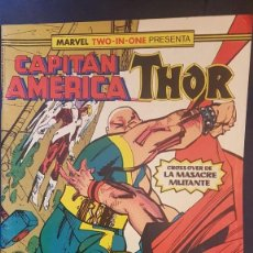 Cómics: CAPITÁN AMERICA/THOR Nº56 (MARVEL TWO IN ONE) - FORUM. Lote 199282111