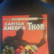 Cómics: CAPITÁN AMERICA/THOR Nº57 (MARVEL TWO IN ONE) - FORUM. Lote 199284775
