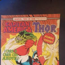 Cómics: CAPITÁN AMERICA/THOR Nº61 (MARVEL TWO IN ONE) - FORUM. Lote 199284953