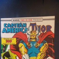 Cómics: CAPITÁN AMERICA/THOR Nº64 (MARVEL TWO IN ONE) - FORUM. Lote 199285201