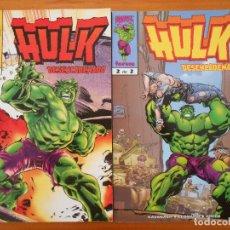 Comics : HULK DESENCADENADO COMPLETA - Nº 1 Y 2 - MARVEL - FORUM (BK). Lote 199371685