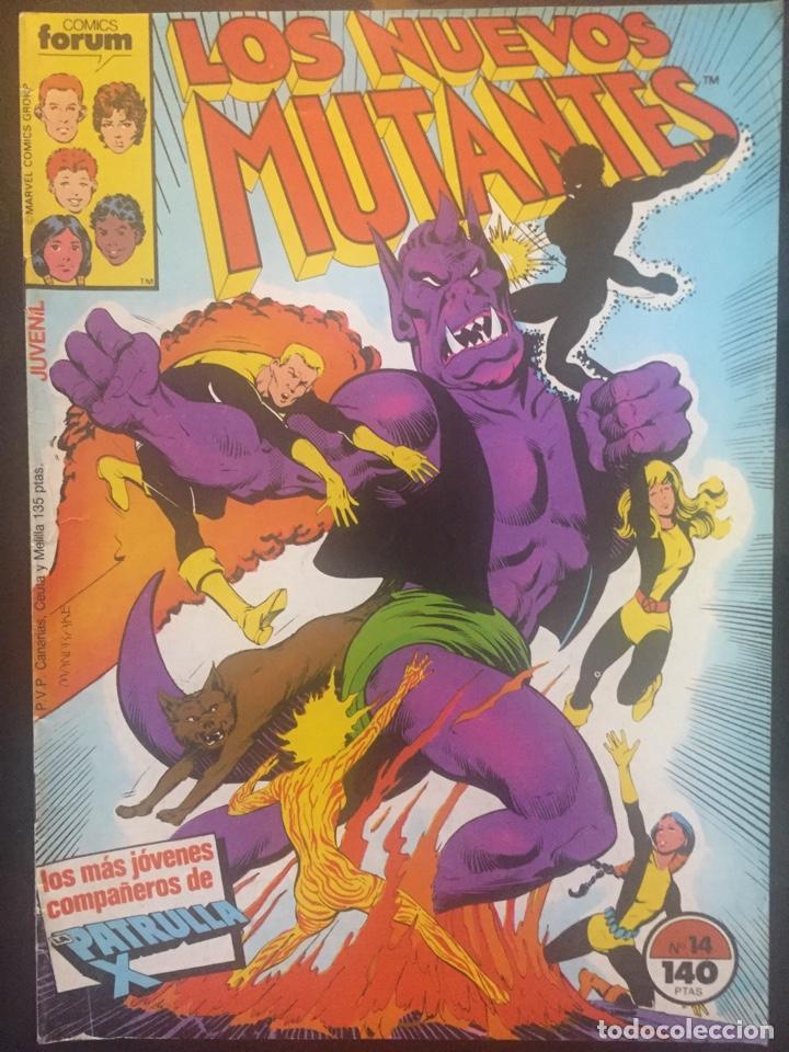 LOS NUEVOS MUTANTES VOL.1 N.14 CREES EN LA MAGIA . ( 1987/1992 ). (Tebeos y Comics - Forum - Nuevos Mutantes)