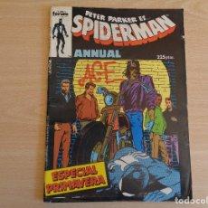 Fumetti: PETER PARKER ES SPIDERMAN. ESPECIAL PRIMAVERA. FORUM. Lote 199415016
