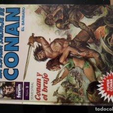 Cómics: CONAN Y EL BRUJO. Lote 199461936