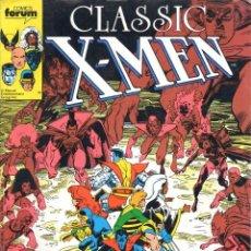 Cómics: CLASSIC X-MEN NUMERO 14 FORUM. PATRULLA X. Lote 199583278