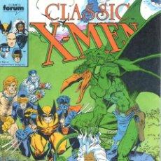 Cómics: CLASSIC X-MEN NUMERO 20 FORUM. PATRULLA X. Lote 199583513