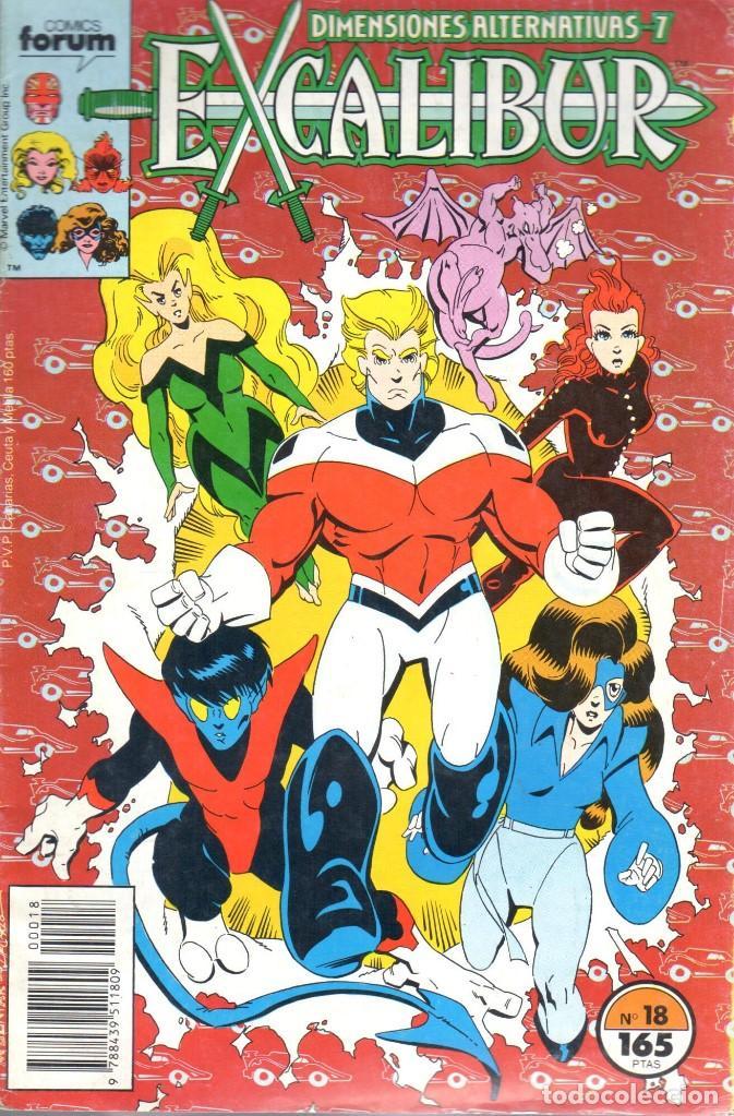EXCALIBUR VOLUMEN 1 NUMERO 18 (Tebeos y Comics - Forum - Patrulla X)