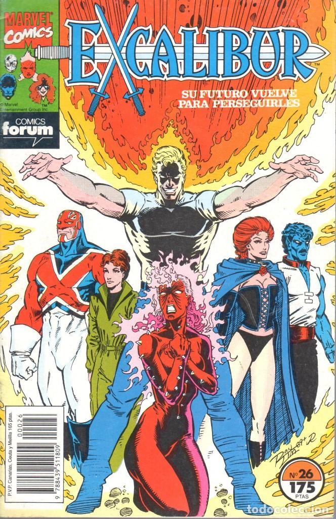 EXCALIBUR VOLUMEN 1 NUMERO 26 (Tebeos y Comics - Forum - Patrulla X)
