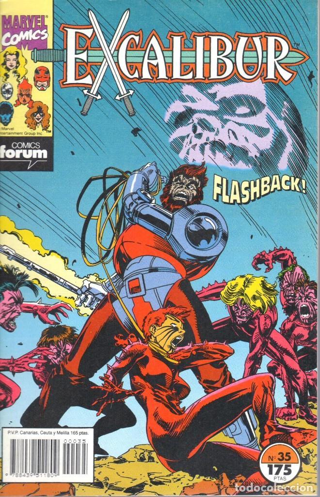 EXCALIBUR VOLUMEN 1 NUMERO 35 (Tebeos y Comics - Forum - Patrulla X)