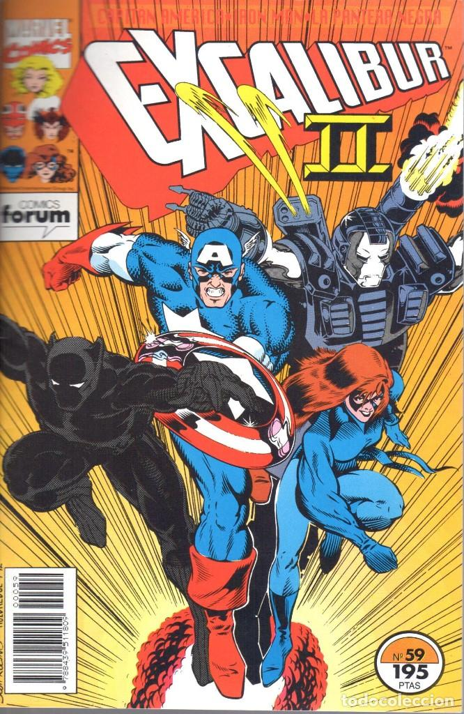 EXCALIBUR VOLUMEN 1 NUMERO 59 (Tebeos y Comics - Forum - Patrulla X)