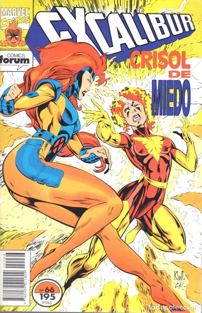 EXCALIBUR VOLUMEN 1 NUMERO 66 (Tebeos y Comics - Forum - Patrulla X)