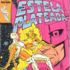 Cómics: ESTELA PLATEADA. NUMEROS 1 AL 18. FORUM. SILVER SURFER. Lote 199717797