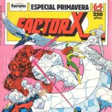 Cómics: FACTOR X. EXTRA PRIMAVERA 1987 FORUM. X FACTOR. Lote 199718990