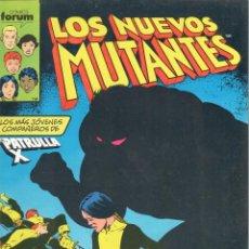 Cómics: LOS NUEVOS MUTANTES NUMERO 3 FORUM.. Lote 199719333