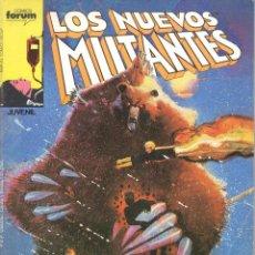 Cómics: LOS NUEVOS MUTANTES NUMERO 19 FORUM.. Lote 199719820